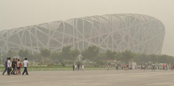 Bird Nest stadion Olympische spelen