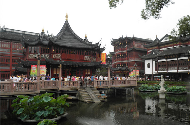 Old Town in Shanghai