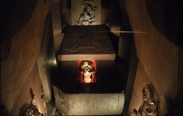 Tombe van Pakal de Maya koning van Palenque