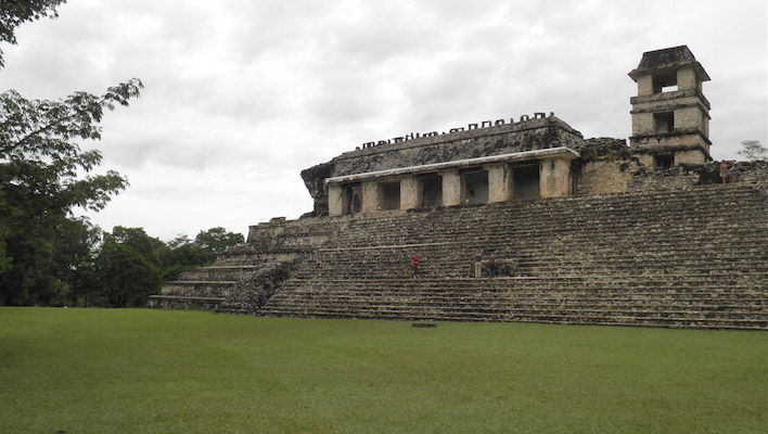 Palenque Mexico Maya paleis