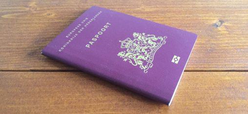 Paspoort gestolen op vakantie