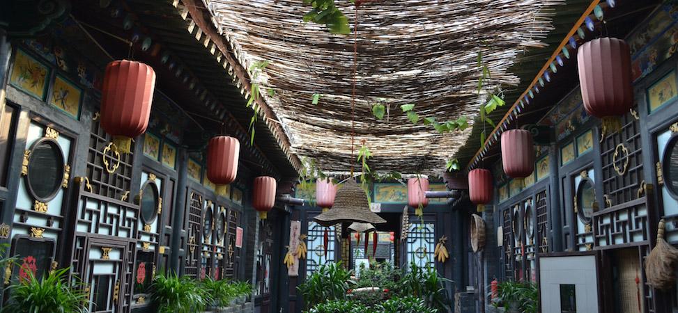 Pingyao binnenplaats guesthouse