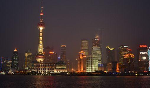 Shanghai uitzicht The Bund