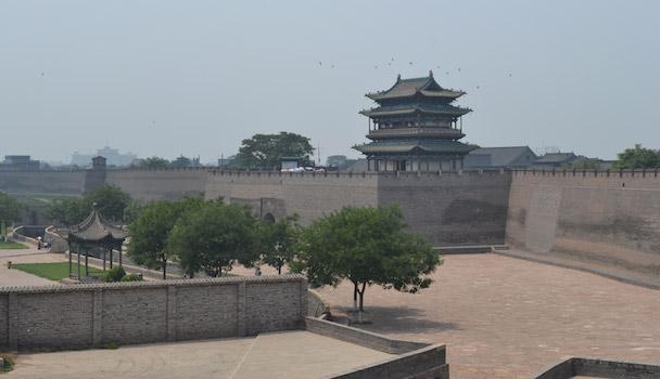 stadsmuur van Pingyao
