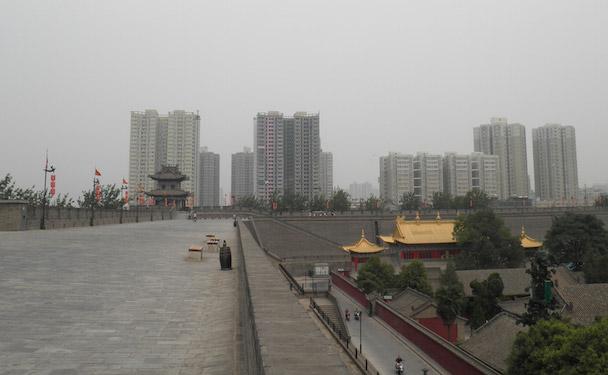 oude stadsmuur Xi'an