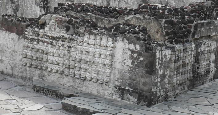 Templo Mayor dodenmuur Mexico