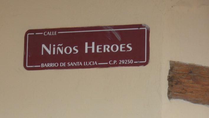 Straatnaam San Cristobal