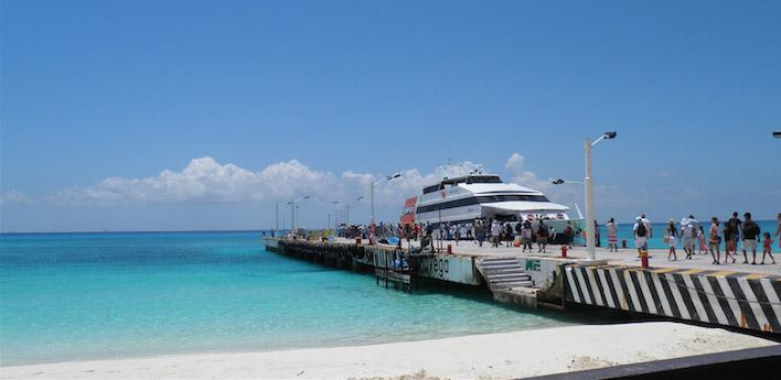 Pier van Playa Del Carmen