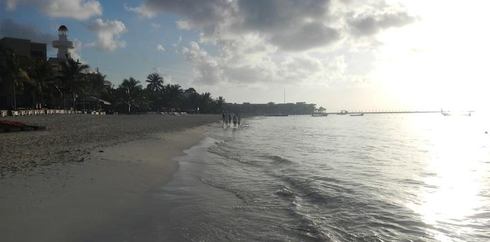Strand Playa del Carmen Mexico