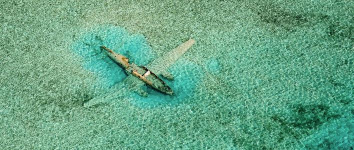 C-46A Vliegtuigwrak Bahamas