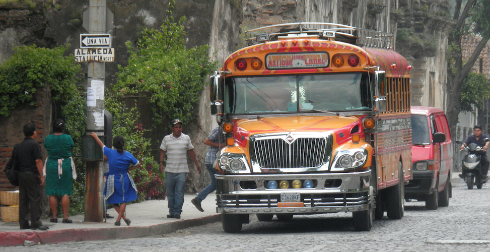 Stadsbus Guatemala