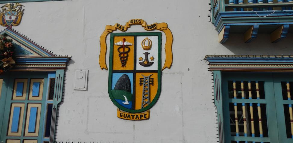 Guatapé Colombia gemeentehuis