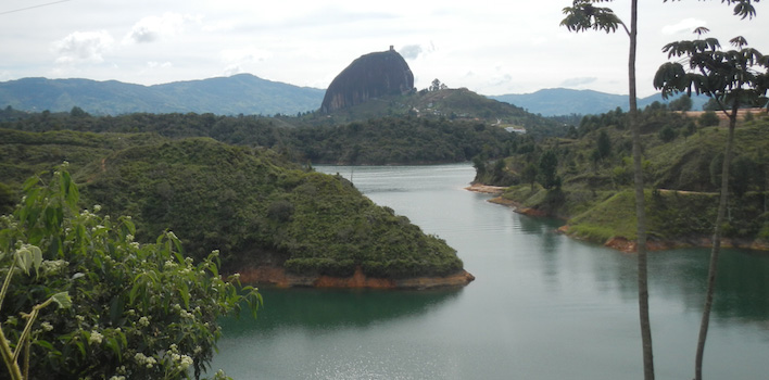 La Piedra in Guatapé Colombia