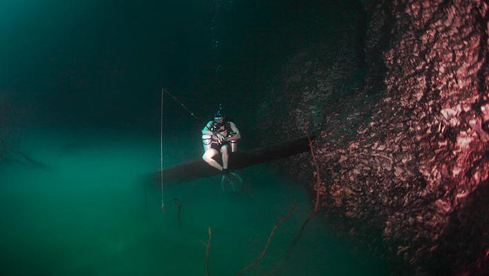 Onderwater rivieren Yucatan
