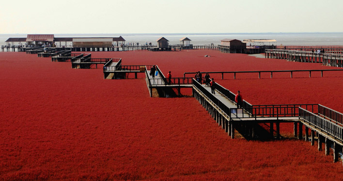 Rode strand Panjin
