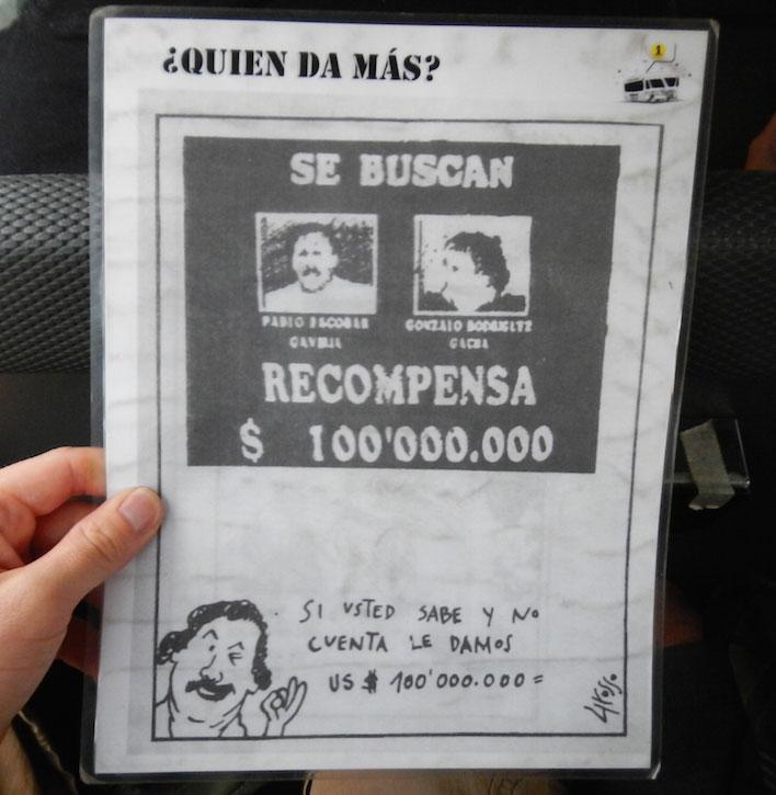 Spotprent Pablo Escobar
