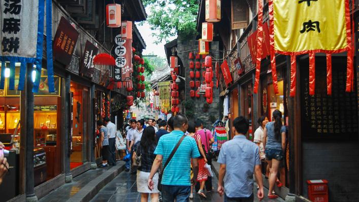 Jinli tempelstraat