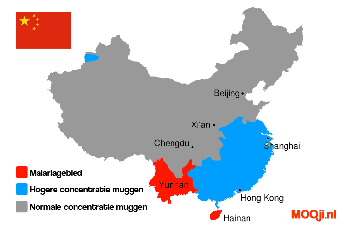 Malariagebied China