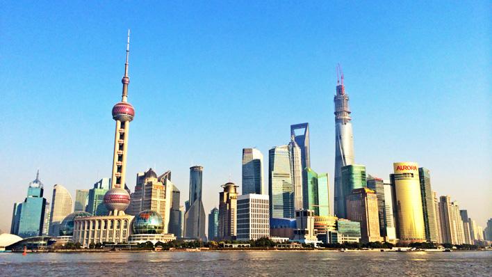 Shanghai Pudon Skyline
