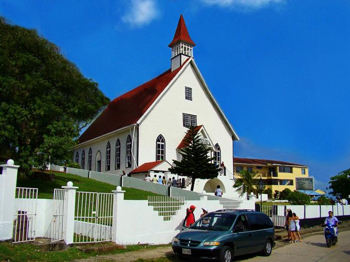 Kerk in La Loma op San Andres