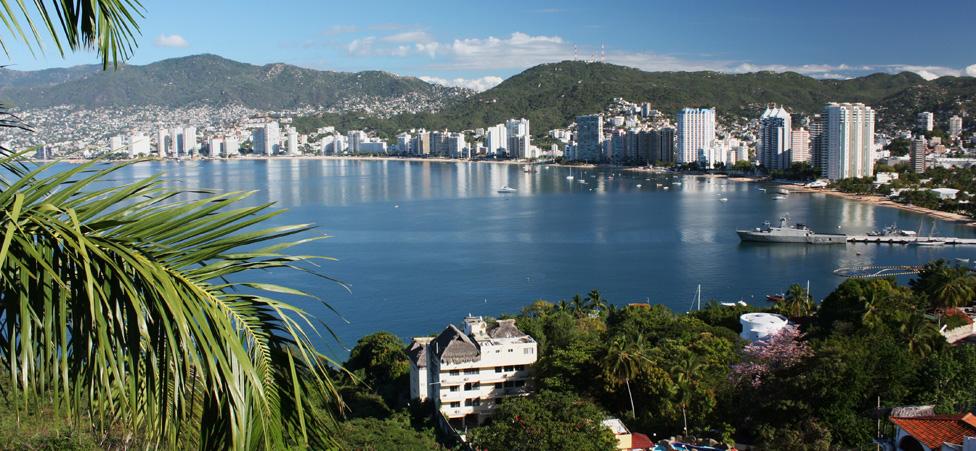Acapulco kustlijn & skyline