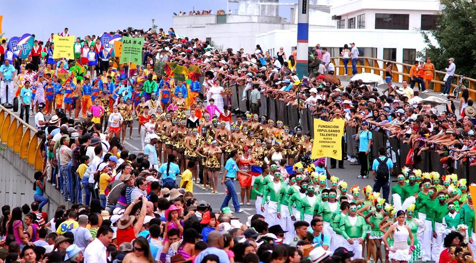Festival Feria de Cali in Colombia