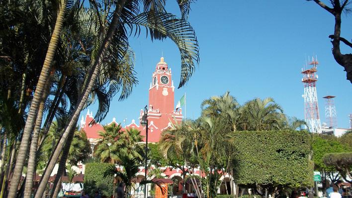 Kerk bij Merida
