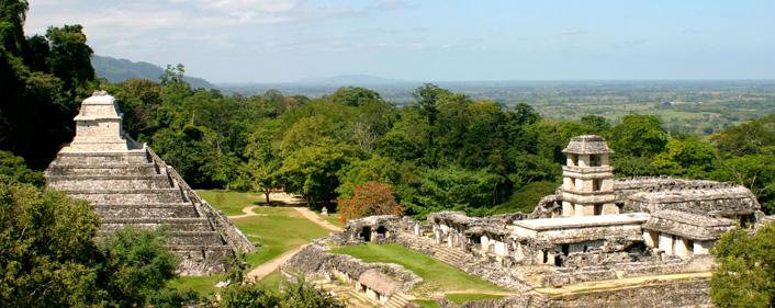 Palenque Maya tempels