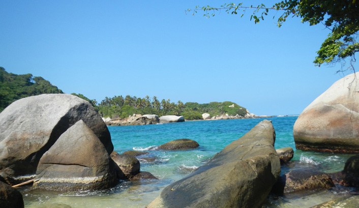 Nationale park Tayrona Colombia
