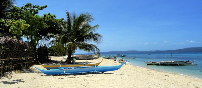 Tropisch strand van San Andres