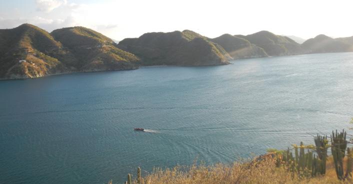 Taganga Colombia baai