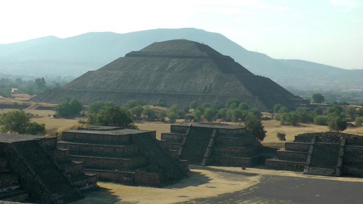 Zonne tempel Teotihuacan
