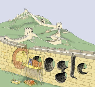 Google geblokkeerd in China