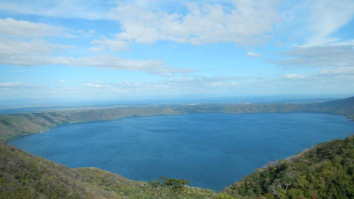Apoya kratermeer Nicaragua