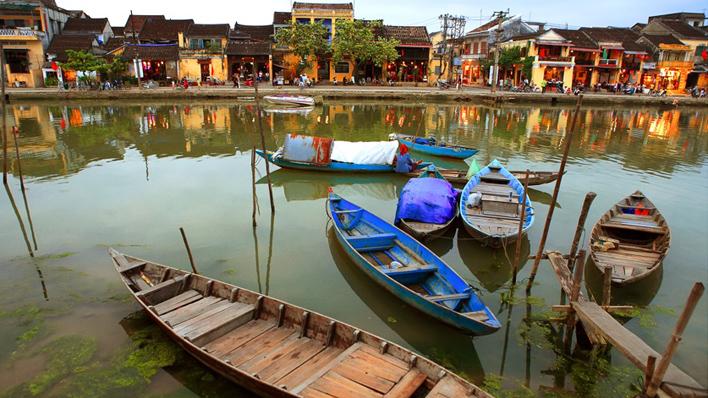 Hoi An oud dorpje Vietnam