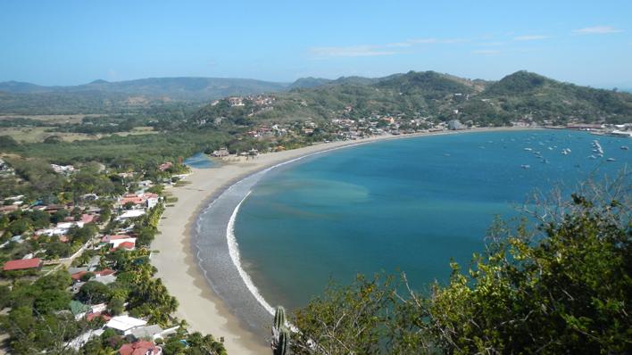 San Juan Del Sur het surfdorp