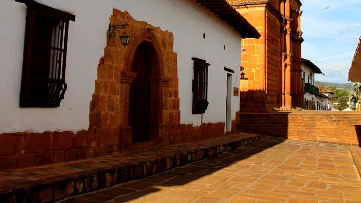 Barichara route San Gil