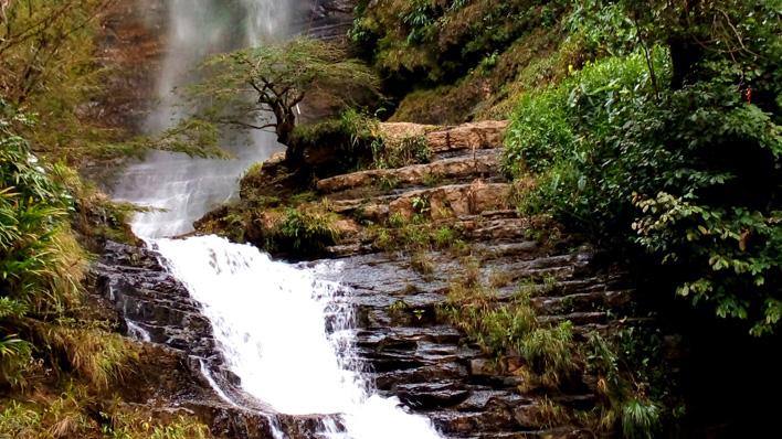 Watervallen van San Gil Colombia