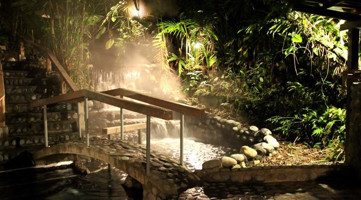 La Fortuna vulkanische spa