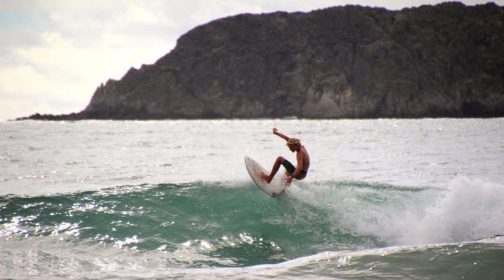 Surfen in Manuel Antonio Costa Rica