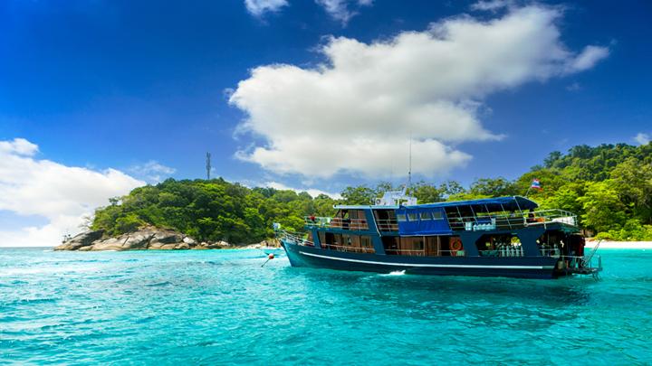 Reizen naar Similan eilanden