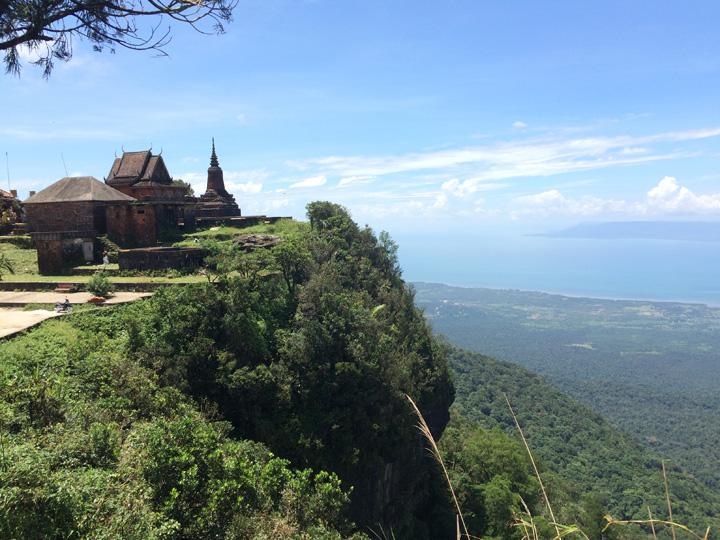 Bokor Hill uitzicht Cambodja