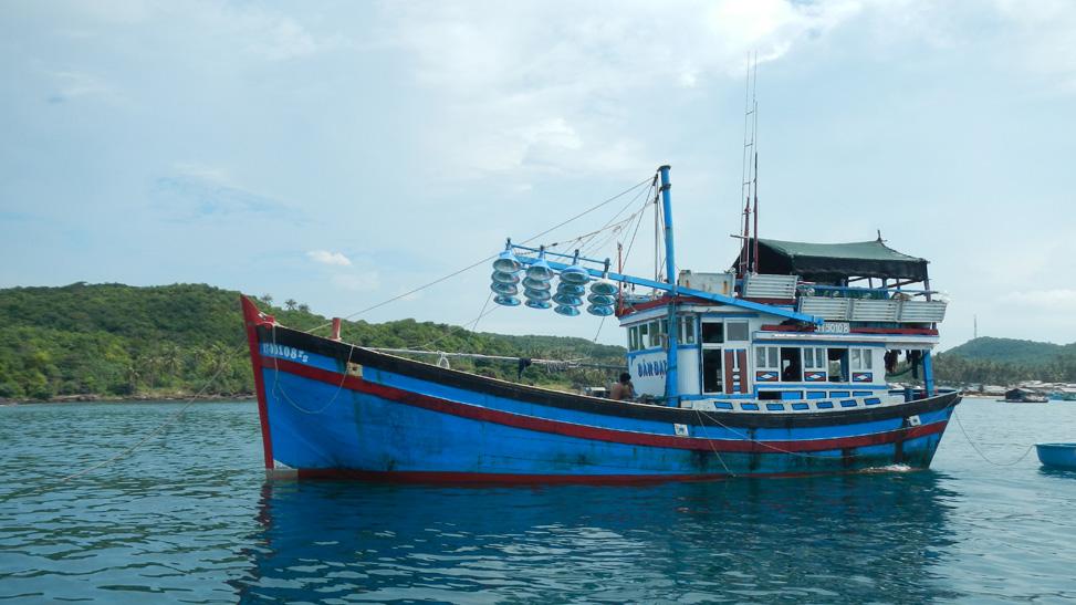 Phu Quoc vissersboot