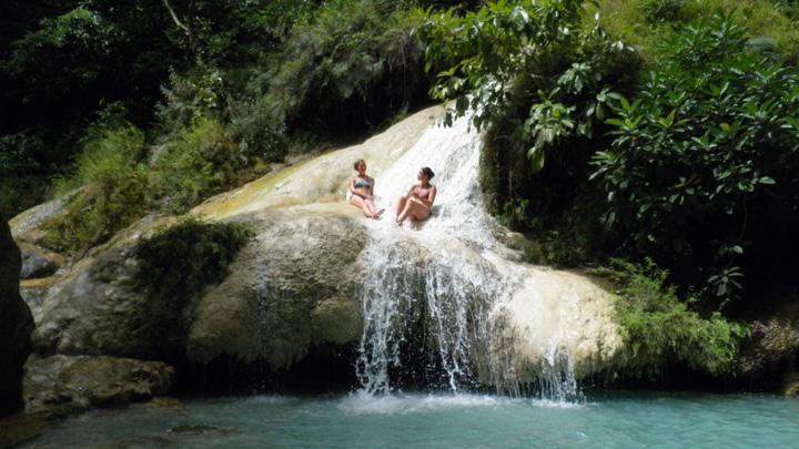 Erawan watervallen Kanchanaburi