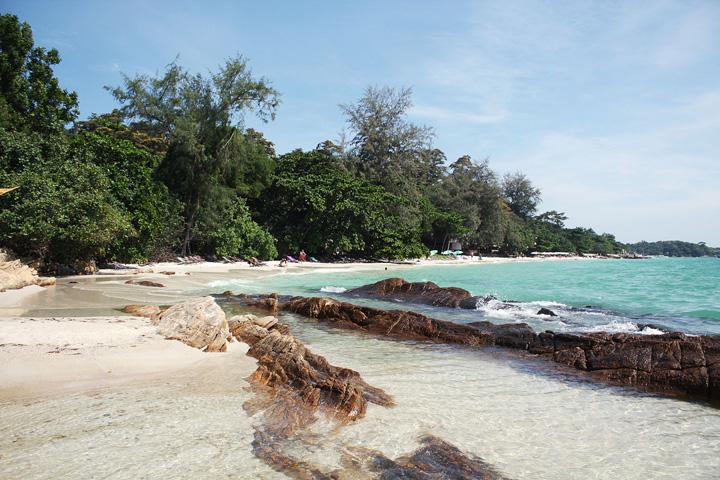 Stranden op Koh Samet