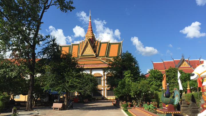 Tempel in Siem Riep Cambodja