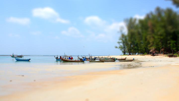 Stranden van Phuket