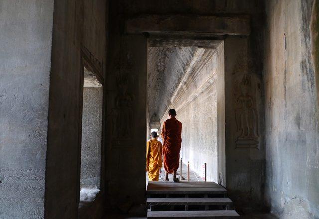 Angkor Wat monk