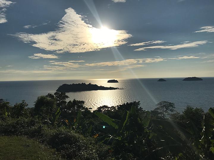 Uitzicht viewpoint Kai Bae Koh Chang