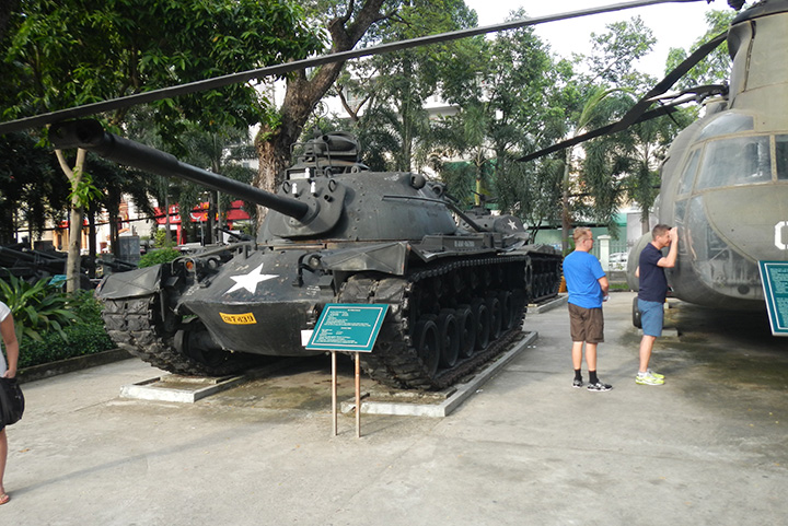 Oorlogsmuseum Ho Chi Minh City